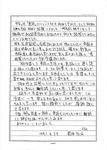 速読訓練後 記録用紙 能力向上 集中 英語